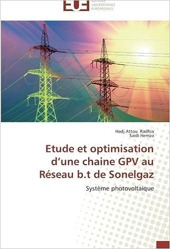 Livres gratuits en ligne Etude et optimisation d'une chaine GPV au Réseau b.t de Sonelgaz: Système photovoltaique pdf