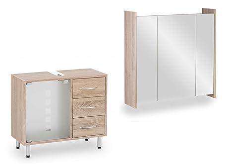 Galdem mobili per bagno specchio armadio frosti con immagine
