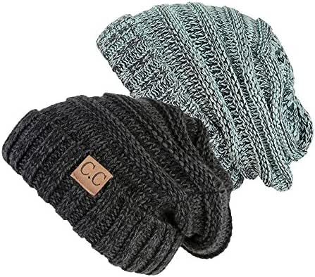 NYfashion101 Exclusive Oversized Baggy Slouchy Thick Winter Beanie Hat
