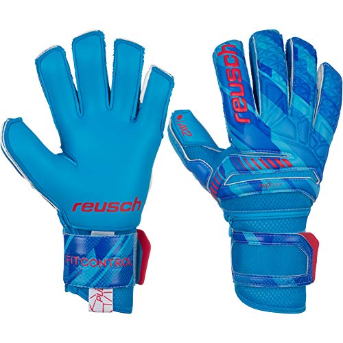 Reusch Fit Control Pro AX2 Ortho-Tec Aqua Wet Weather Grip Goalkeeper Gloves Goalkeeping Soccer Gloves