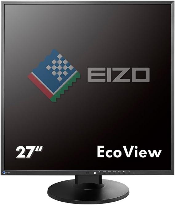 Eizo Flexscan Ev2730q Bk 67 2 Cm Quadratischer Monitor Computer Zubehör