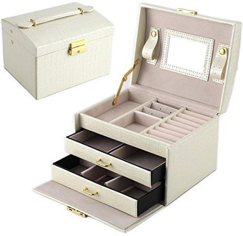 Goldwheat Leather Jewelry Box