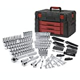 WORKPRO 320-Piece Mechanics Tool Kit, Professional Socket Set with Heavy Duty Case Box