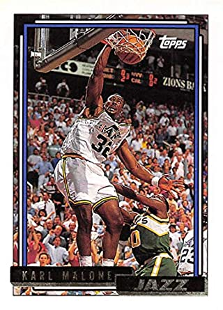 sports shoes 15836 82d68 Amazon.com: 1992-93 Topps Gold Basketball #20 Karl Malone ...