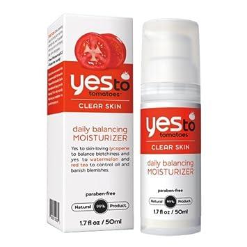 Yes To Tomatoes crema hidratante facial equilibrante diario 50 ml: Amazon.es: Belleza