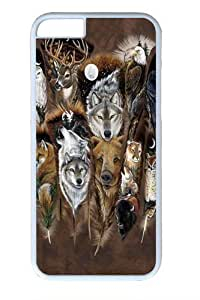 Animal Feathers PC for Case For Sam Sung Galaxy S5 Cover and Case For Sam Sung Galaxy S5 Cover inch White