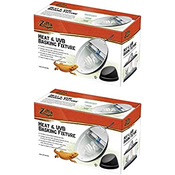 Amazon Com 2 Pack Zilla Reptile Terrarium Heat Lamps