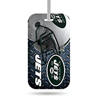 NFL Crystal View Team Luggage Tagnfl Crystal View Team Luggage Tag, Steel Blue, 7.5 x 3 x 0.5