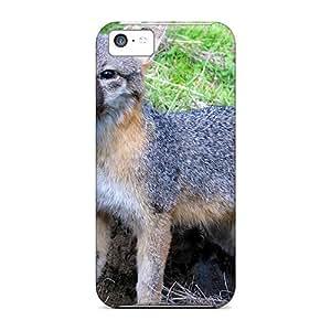 XiFu*MeiDze28096Zgst Anti-scratch Cases Covers Mycase88 Protective Gray Fox Cases For iphone 6 4.7 inchXiFu*Mei