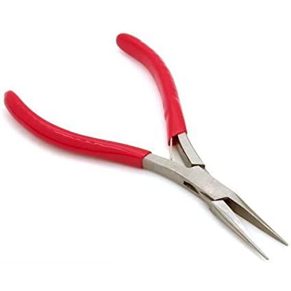 Surprising Amazon Com 4 Mini Long Nose Pliers Jewelers Beading Wire Tools Wiring 101 Cajosaxxcnl