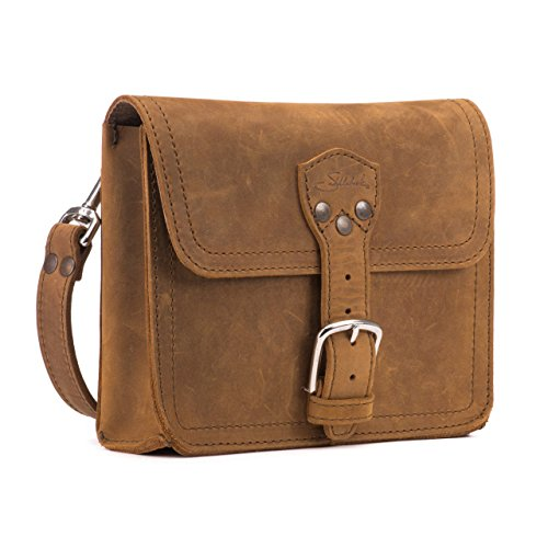 Saddleback Leather Book Bag - 100% Full Grain Leather Satchel Bag with 100 Year Warranty by Saddleback Leather Co.