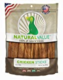 Loving Pets Natural Value All Natural Soft Chew Chicken Sticks for Dogs, 14-Ounce
