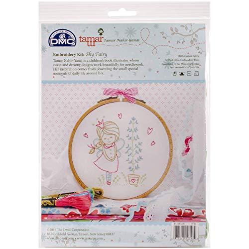 Dmc Embroidery Kits - DMC Tamar Embroidery Kit Shy Fairy