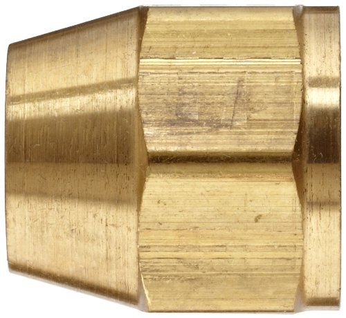 Anderson Metals Corp Inc 54014-06 Flare Short Nut Pack of 10