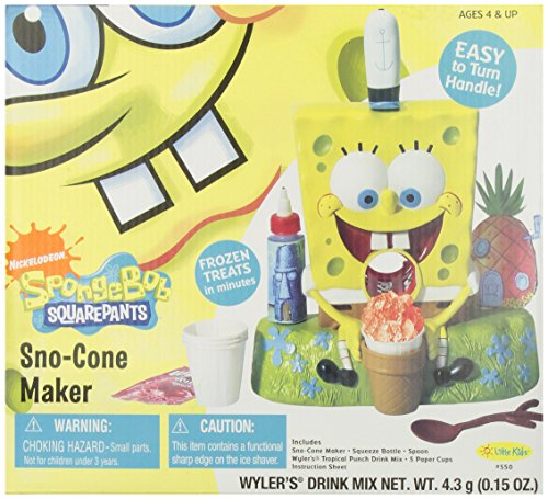 Spongebob Snow Cone Maker - SpongeBob SquarePants Sno Cone Maker