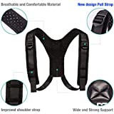 Posture Corrector for Women and Men – Adjustable Clavicle Posture Brace - Corrector Therapeutic - Posture Support for Scoliosis - Perfect Posture Trainer Corrector - Upper Back Pain