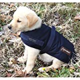 ABO Gear Navy Blue Breathable Waterproof Dog Coat, My Pet Supplies