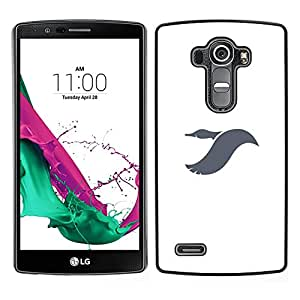 LECELL--Funda protectora / Cubierta / Piel For LG G4 -- Vuelo Dayan --