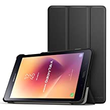 MoKo Samsung Galaxy Tab A 8.0 2017 Case - Ultra Lightweight Slim Smart-shell Cover Case With Auto Wake / Sleep for Galaxy Tab A 8.0 (SM-T380/T385) 2017 Release (NOT FIT 2015 Tab A 8.0), BLACK