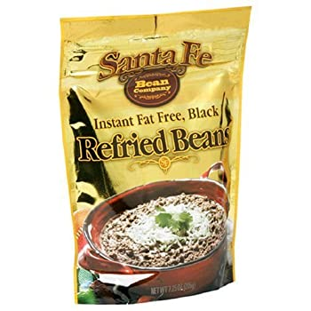Santa Fe Bean Instant Fat Free Black Refried Beans