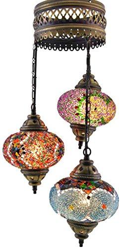 Moroccan Style Pendant Light - 6