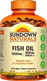 Sundown Naturals Fish Oil 1000 mg, 200 Softgels