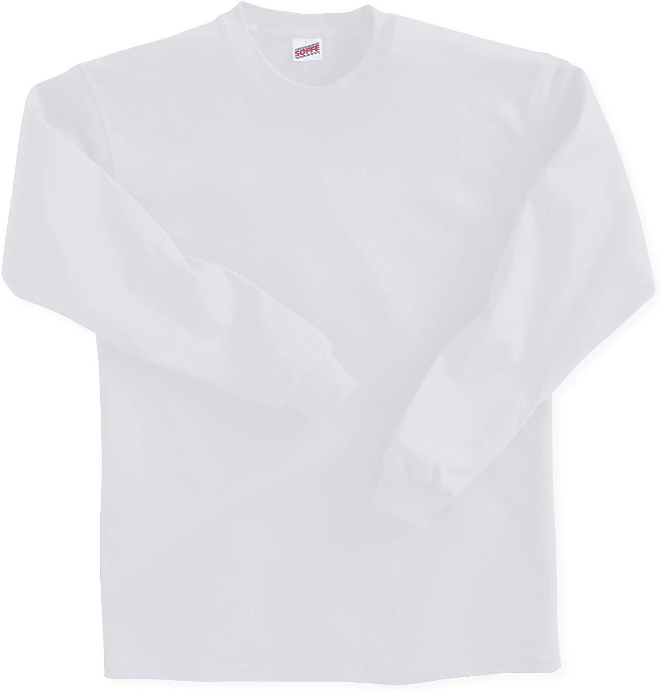 Soffe Big Boys' Long Sleeve Cotton T-Shirt