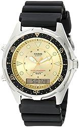Casio Men's AMW320D-9EV Ana-Digi Alarm Chronograph Dive Watch