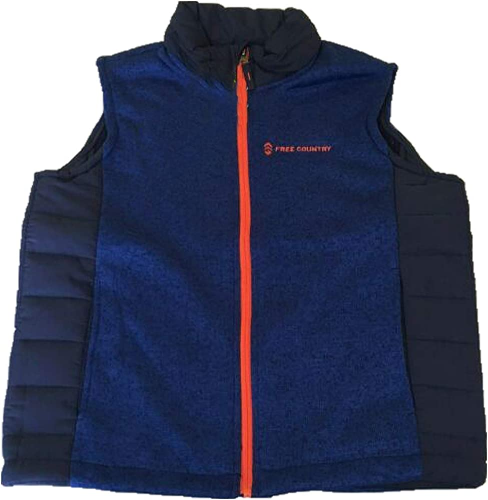 Bienzoe Kids Zip Quilted Sleeveless Warm Cotton-Padded Puff Vest