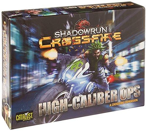 catalyst games Shadowrun Crossfire Mission 1 High Calib Board Game