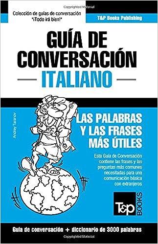 Guía De Conversación Español Italiano Y Vocabulario Temático