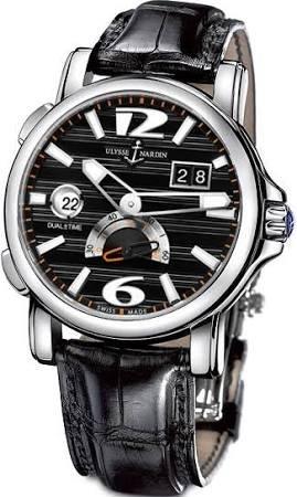 Ulysse Nardin Dual Time Mens Watch 243-55-62