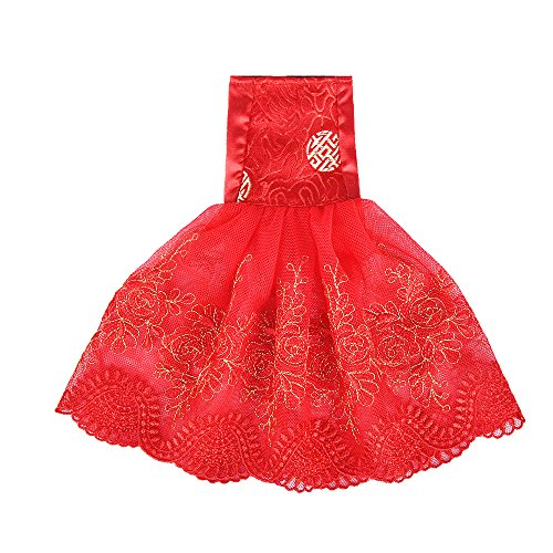 - E-TING Santa Couture Clothing for elf (Bride Dress) Doll is not Included