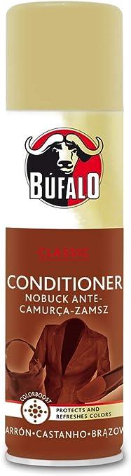 Búfalo Spray Nubuck Marrón - 250 ml: Amazon.es: Salud y ...