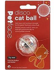 Petface Disco Cat Ball Toy