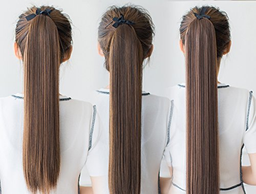 Amazon Fake Pony Tail Wig Long Section Of The Korean Version