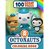 Octonauts Coloring Book: Great Coloring Book for Kids and Fans – GIANT 100 Pages with High Quality Images