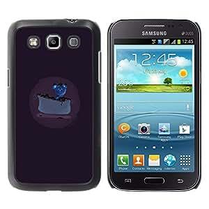 LECELL--Funda protectora / Cubierta / Piel For Samsung Galaxy Win I8550 -- Ratón consiguió un pastel de queso --