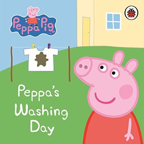 Board 2010 - Peppa Pig: Peppa's Washing Day: My First Storybook by Ladybird (7-Jan-2010) Board book