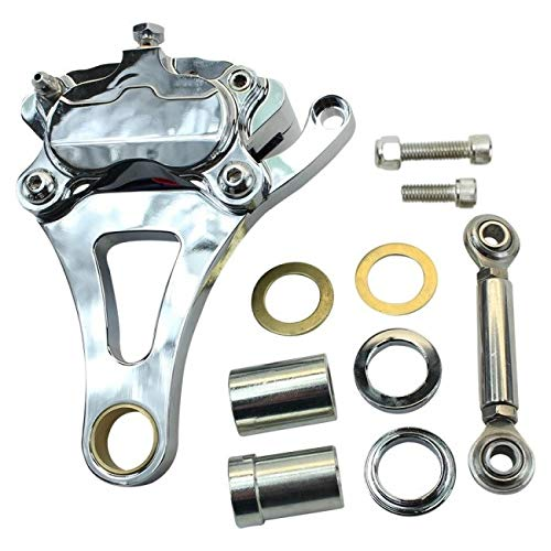 (Springer Front End Brake Caliper Kit Left Side Chrome)