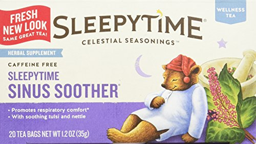 Celestial Seasonings Wellness Tea, Sinus Soother, 20-count (Pack of 2)