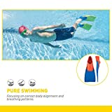 FINIS Long Floating Fins , Red/Blue , M