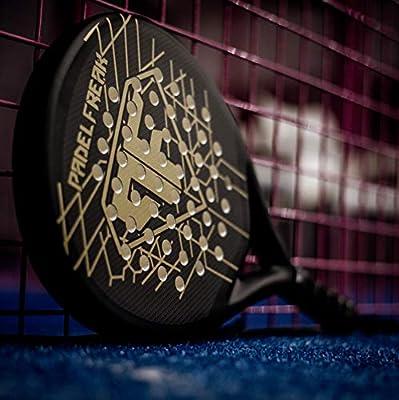 Pala Padel Enigma, Color Negro y Dorado Mate: Amazon.es: Deportes ...