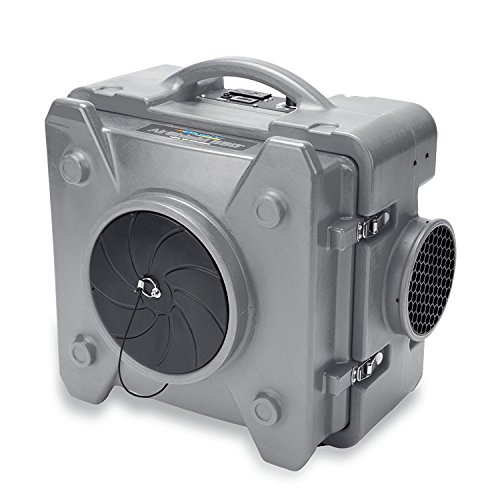 BlueDri AS-550 Industrial Commercial HEPA Air Purifier, Negative Air Machine Air Scrubber, Gray