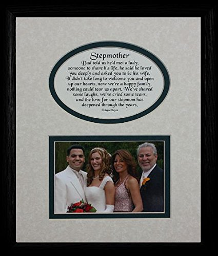 Amazon.com - 8x10 STEPMOTHER Picture & Poetry Photo Gift Frame ...