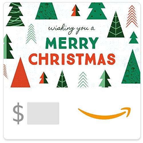 Amazon eGift Card - Christmas Trees