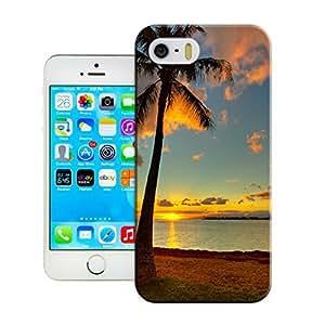 LarryToliver Customizable iphone 5/5s Case, Best Durable Plastic Seaside landscape iphone 5/5s Case
