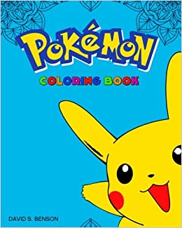 Mandala POKEMON Coloring Book How To Draw Pokemon Kids Books David SBenson 9781535593243