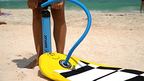 High Pressure Hand Pump for Inflatable SUP Board – Double action pump for  faster inflation by Supflex – Inflate up to 27 PSI 2446a65bcbf5