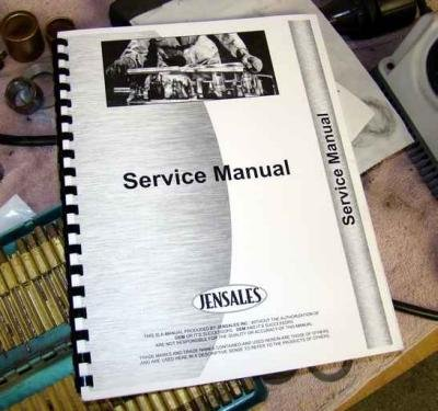 Shop Service Manual Binder - INTERNATIONAL Corn Binder Service Manual